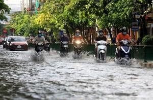 Thanh Hóa, Hà Tĩnh mưa rất to, đề phòng ngập úng cục bộ