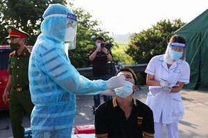 Thanh Hóa: Thêm 15 ca mắc Covid-19 liên quan 2 bệnh nhân tại Bỉm Sơn