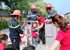 Học sinh sẽ phải học kỹ năng phòng cháy, cứu nạn