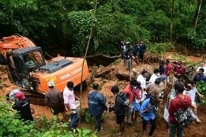 Sạt lở đất tại Ấn Độ làm nhiều người thiệt mạng