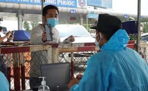 12 chốt cửa ngõ TP HCM dừng kiểm tra giấy xét nghiệm
