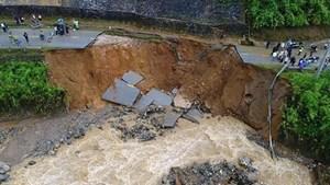 Mưa lớn khu vực Bắc Bộ, nguy cơ cao xảy ra lũ quét, sạt lở đất