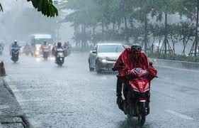 Nhiều khu vực trong cả nước có mưa