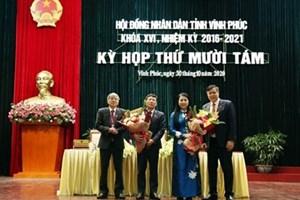 Thủ tướng phê chuẩn nhân sự 3 tỉnhVĩnh Phúc, Kon Tum, Sơn La