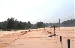 Đắk Lắk: Nước sông dâng cao, cảnh báo lũ khẩn cấp