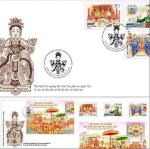 Phát hành tem Tín ngưỡng thờ Mẫu Tam phủ