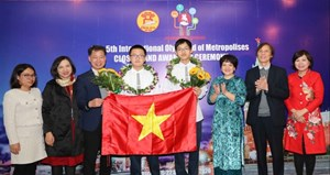 Học sinh Hà Nội xuất sắc giành 5 HCV Olympic quốc tế