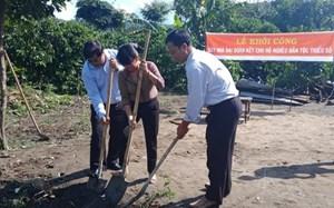 Hà Giang: Triển khai xây dựng 112 nhà Đại đoàn kết
