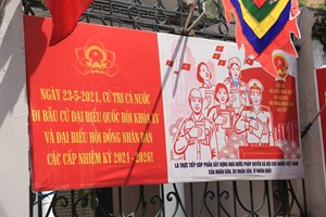 [Video] Thủ đô Hà Nội rực rỡ đón chờ ngày hội bầu cử