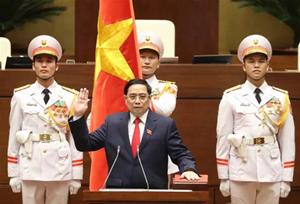 [VIDEO] Thủ tướng Chính phủ Phạm Minh Chính tuyên thệ nhậm chức