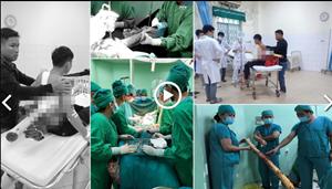 Phẫu thuật cứu sống thiếu niên bị cây keo đâm xuyên người