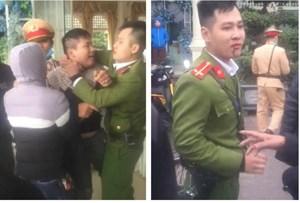 [VIDEO]Tài xế dương tính với ma tuý đấm chảy máu Trung uý cảnh sát