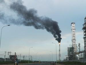 Bà Rịa-Vũng Tàu: Nhà máy Hyosung Vina xả khói đen trùm kín bầu trời