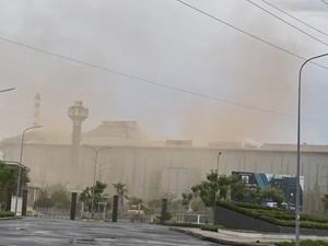 Nhà máy luyện phôi thép Pomina tiếp tục xả khí thải ra môi trường