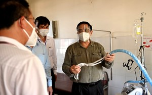 Thủ tướng Chính phủ kiểm tra phòng chống dịch Covid-19 tại Đồng Nai