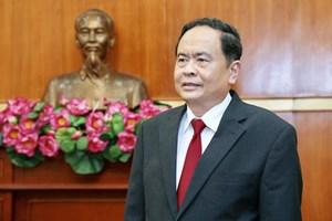 Chủ tịch Trần Thanh Mẫn gửi điện mừng tân Chủ tịch Ủy ban Bảo vệ Cách mạng Cuba
