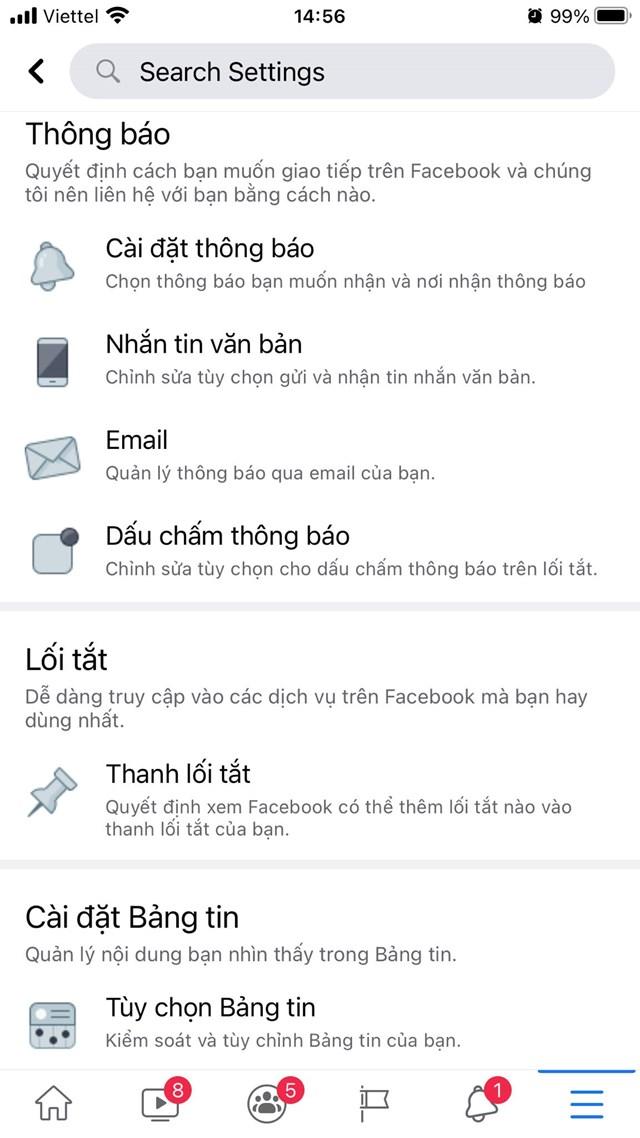 Cách tắt thông báo Facebook trên điện thoại - Ảnh 2