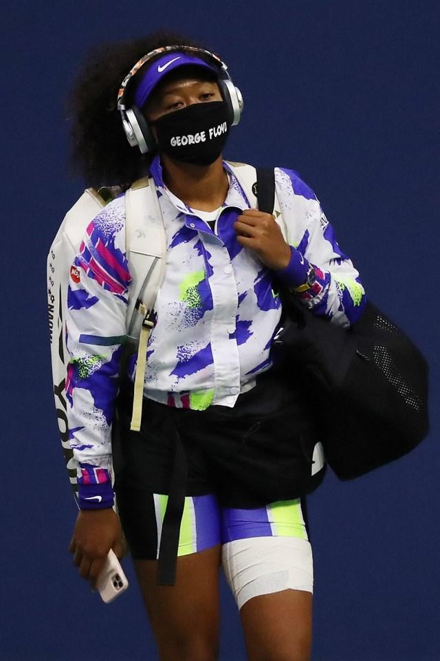 Ngôi sao quần vợt Naomi Osaka.