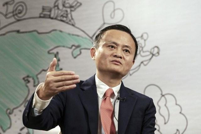 Ông chủ Alibaba, Jack Ma, từng công khai ủng hộ văn hóa làm việc 996. Ảnh:Bloomberg.