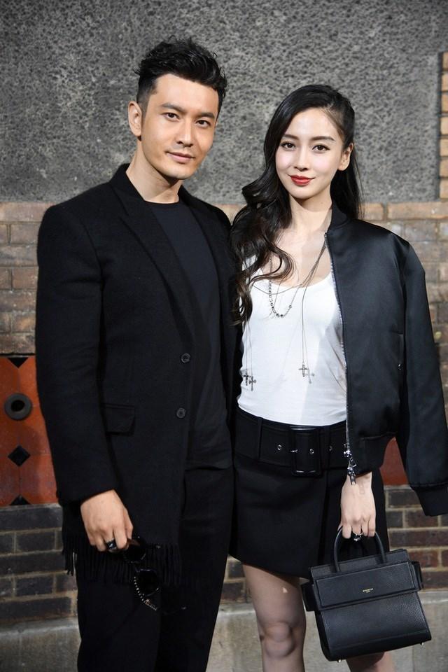 Huỳnh Hiểu Minh và Angelababy không còn xuất hiện bên nhau từ năm 2019.
