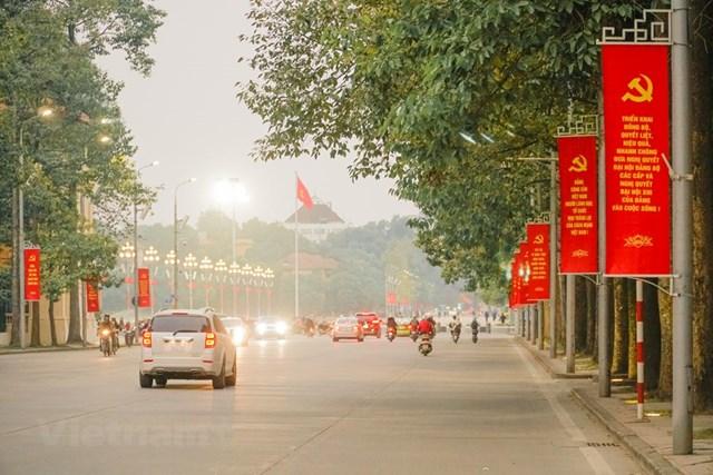 Đại hội XIII của Đảng sẽ diễn ra từ ngày 25/1 đến ngày 2/2/2021, tại Hà Nội. (Ảnh: Minh Hiếu/Vietnam+).