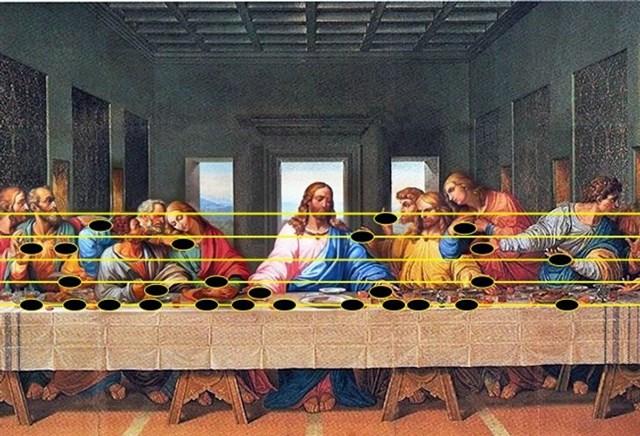 Hé lộ bí ẩn đằng sau những bức họa nổi tiếng - Ảnh 9