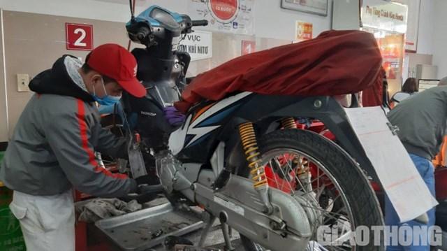 Những việc cần biết khi bảo dưỡng xe máy dịp Tết - Ảnh 1