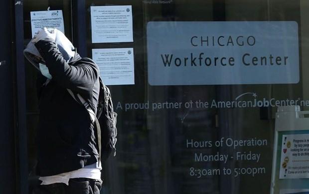 Một trung tâm việc làm tại Chicago, Mỹ. (Ảnh: AP).