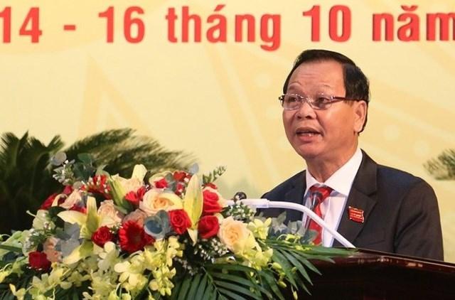 Ông Ngô Thanh Danh, Bí thư Tỉnh ủy tỉnh Đắk Nông.