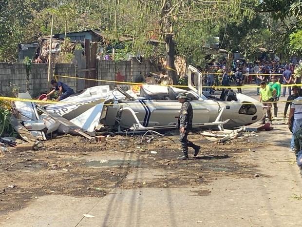 Rơi máy bay trực thăng quân sự ở Philippines, 7 người thiệt mạng - Ảnh 1