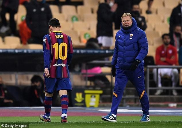 Messi nhận thẻ đỏ, Barcelona tan mộng giành Siêu Cup Tây Ban Nha - Ảnh 5