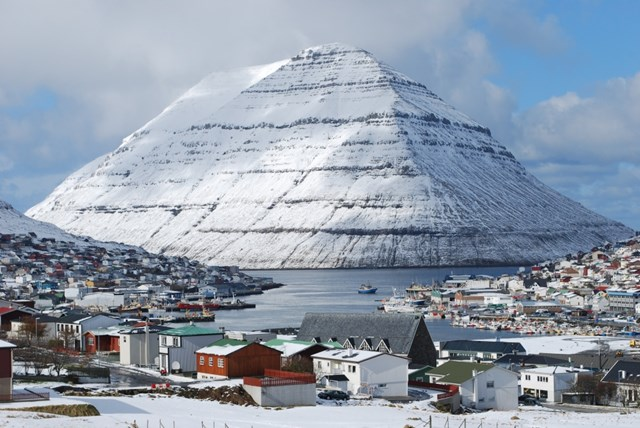 Thành phốKlaksvík,đảo Borðoy, quần đảo Faroe.(Nguồn: B.S).