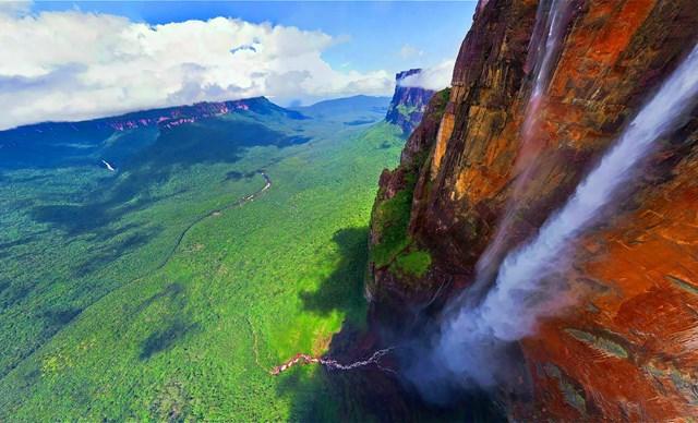 Thác thiên đường, Venezuela.(Nguồn: B.S).