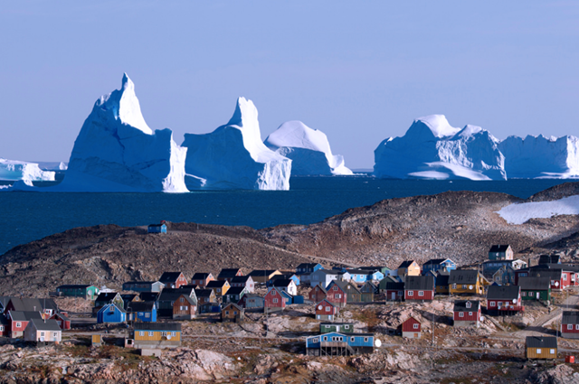 Băng trôi tạiScoresby Sund, Greenland.(Nguồn: B.S).