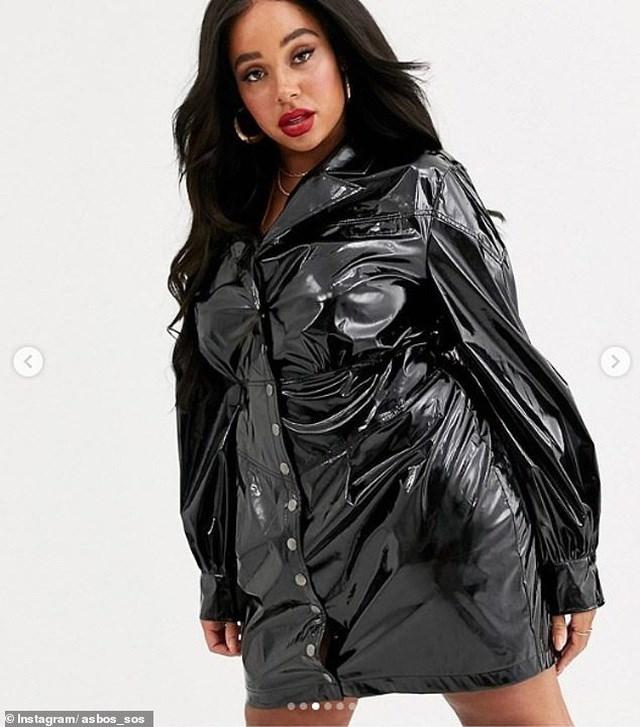 Váy như... túi nhựa đựng rác có giá hơn 15 triệu đồng - Ảnh 1
