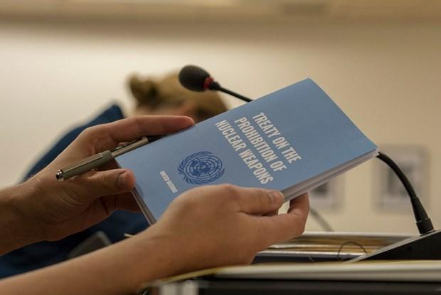 Hiệp ước cấm vũ khí hạt nhân của Liên hợp quốc chính thức có hiệu lực. (Nguồn: banmonitor.org).