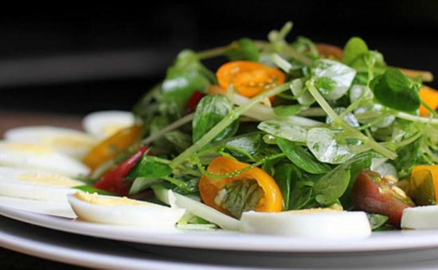 Salat rau củ.