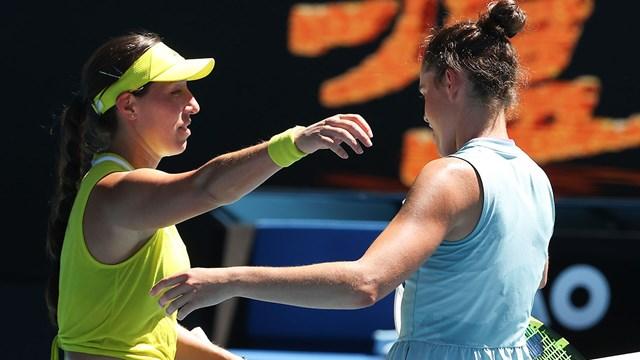 Jessica Pegula vừa dừng chân ở tứ kết giải Úc mở rộng sau khi để thua Jennifer Brady.