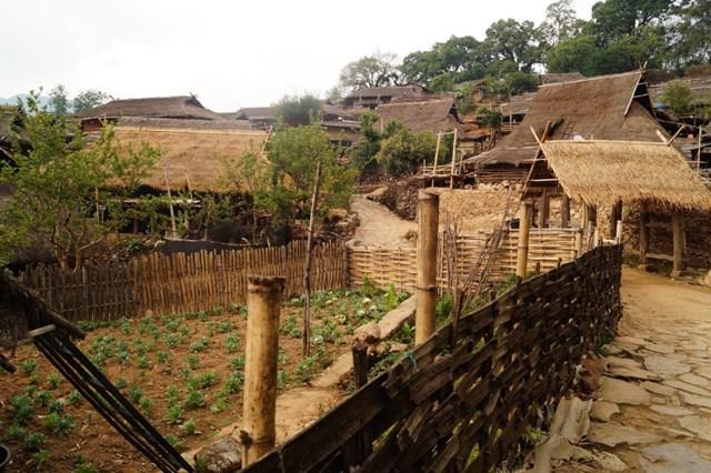 Trong những năm gần đây, làng Wengding đã được đưa vào danh sách di sản văn hóa cần bảo vệ của Trung Quốc cùng với điệu múa trống gỗ của người Wa - Ảnh chụp màn hình.