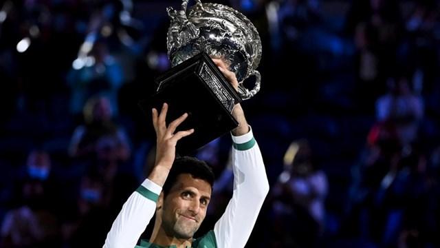 Djokovic lần thứ 9 vô địch Australian Open. (Nguồn: AAP).