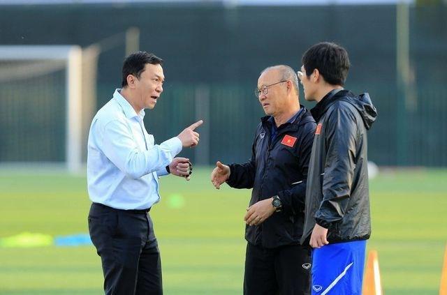 Lịch thi đấu vòng loại World Cup đang ủng hộ HLV Park Hang Seo và đội tuyển Việt Nam.