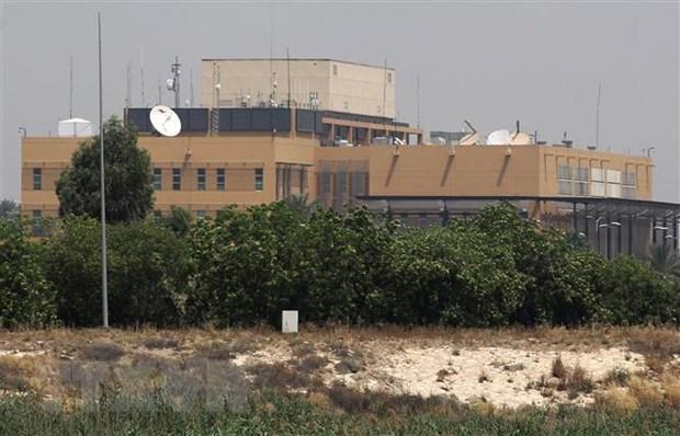 Iraq: Vùng Xanh tại thủ đô Baghdad lại bị tấn công bằng tên lửa - Ảnh 1