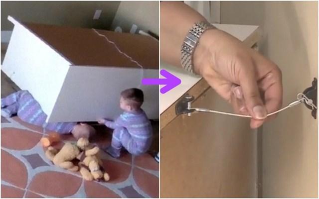 Đã từng có vụ việcbé bị tủ đè vào ngườikhi chơi đùa, vì thế các gia đình cần phải cố định tủ vào tường để tránh trường hợp đáng tiếc xảy ra.