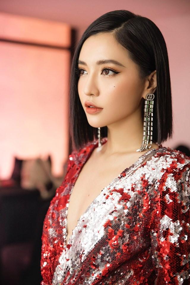 Nữ ca sĩ Bích Phương.