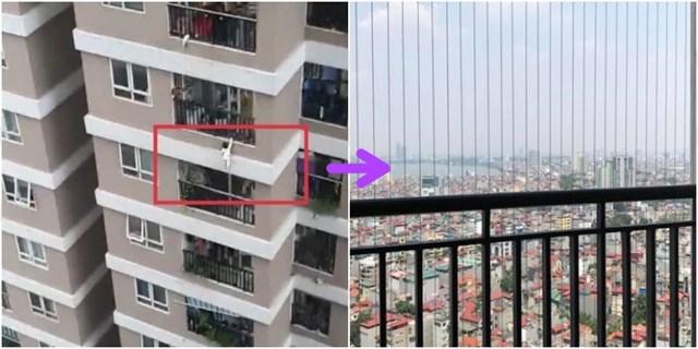 Sau vụ việc bé gái rơi từ tầng 12 chung cư thì có thể thấy việc lắp lưới an toàn là rất cần thiết.