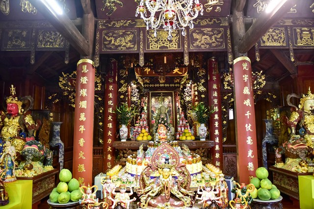 [ẢNH] Ngôi chùa cổ có tượng Phật từ đá quý nguyên khối nặng 600 kg - Ảnh 6