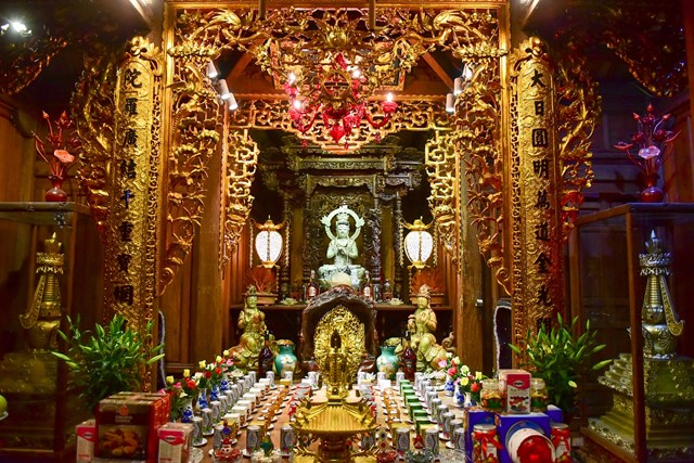 [ẢNH] Ngôi chùa cổ có tượng Phật từ đá quý nguyên khối nặng 600 kg - Ảnh 5
