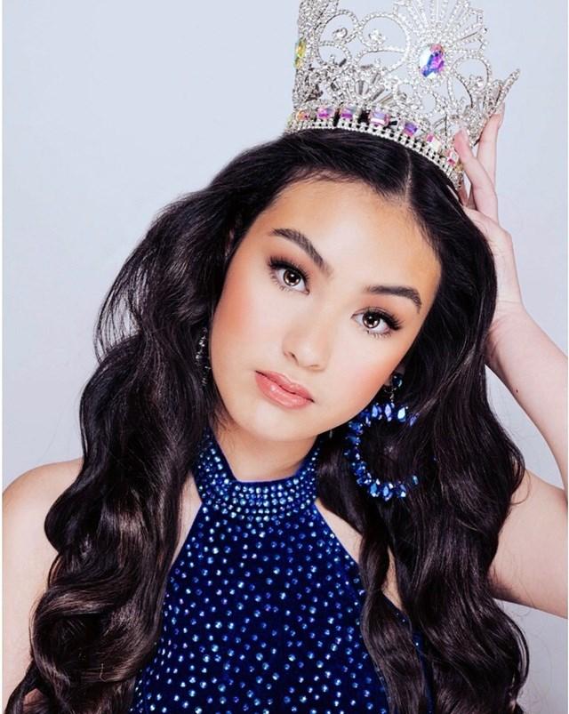 Tân Hoa hậu Aimee Hoang.