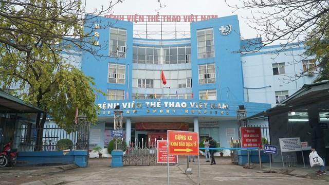 Bệnh viện Thể Thao nơi xảy ra sự việc.