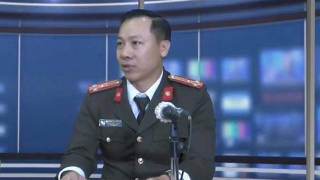 Thượng tá Nguyễn Đình Đỗ Thi, Phó Trưởng phòng Tham mưu, Cục An ninh mạng và phòng chống tội phạm sử dụng công nghệ cao, Bộ Công An.
